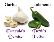Try our garlic and jalapeno cooking wines